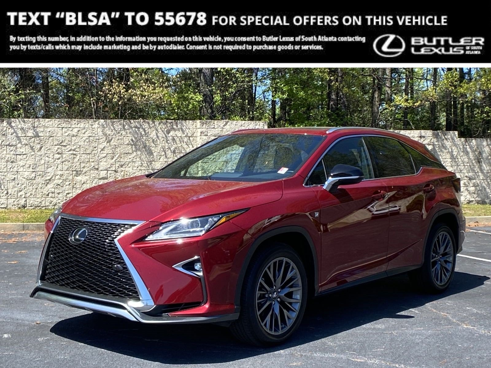 Pre-Owned 2019 Lexus RX 350 F Sport