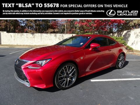 Certified Pre-Owned 2016 Lexus RC 350 350